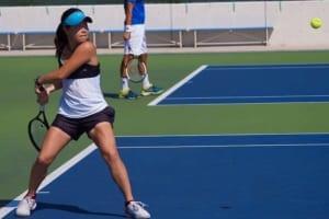 テニスの秋山みなみのプロフィールを掲載いたしました!